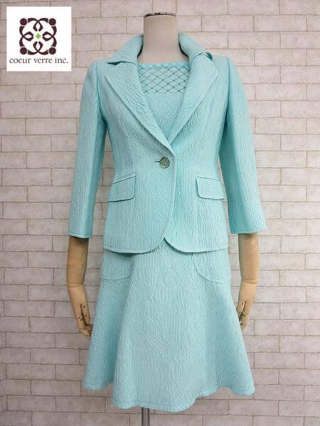 ☆ 銀座マギー 織柄 ワンピースセットアップスーツ 店頭にてお買取り♪