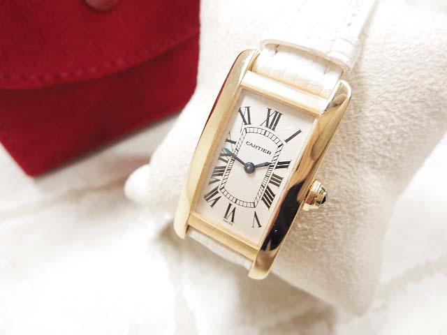 カルティエ Cartier クォーツ腕時計 ご来店のお客様よりお買取り♪
