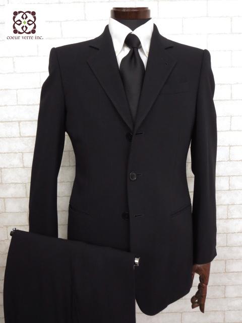 ジョルジオアルマーニ GIORGIO ARMANI 黒ラベル ストライプ柄 シングル スーツ ご来店のお客様よりお買取り♪