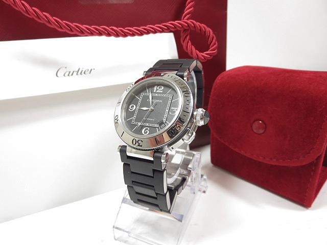 カルティエ Cartier ref.2790 パシャシータイマー デイト ご来店のお客様よりお買取り♪
