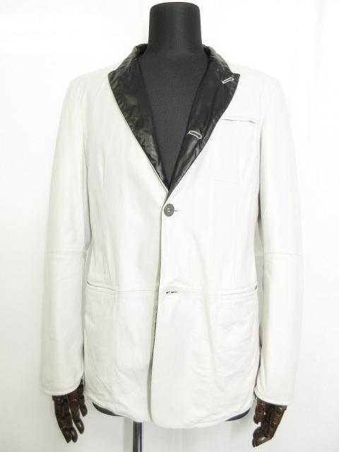 ジョルジオアルマーニ 最高級黒ラベル ラムレザー ジャケット 宅配買取にてお買取りしました!!